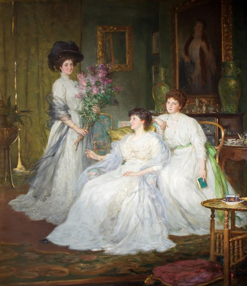George Percy Jacomb-Hood - The Deane Sisters - 1908