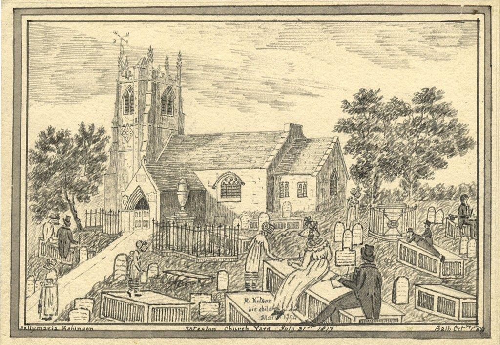 Sally Maria Robinson - Weston Church - 1817