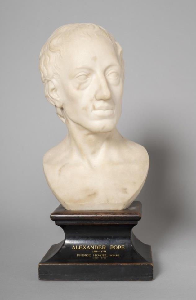 Alexander Pope, sculpture attrib. Prince Hoare
