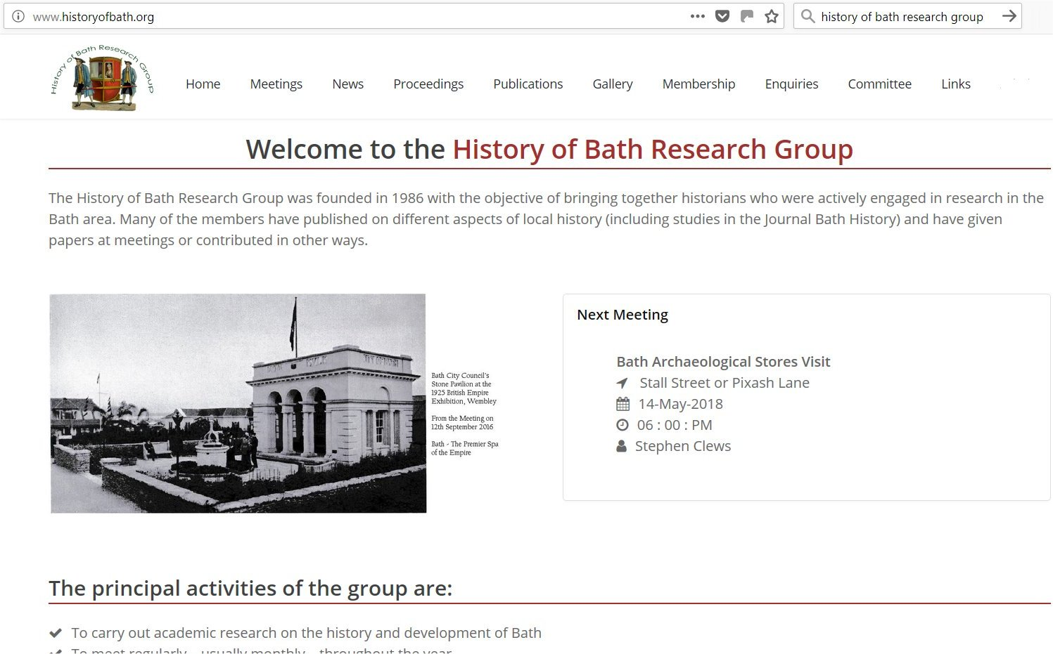 New HBRG Website Launched
