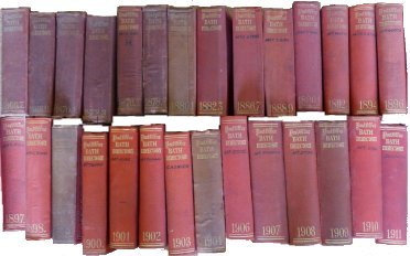 Publication of Early Directories on Our Website